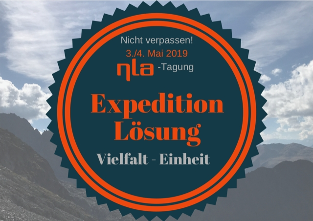 nla Tagung 2019 - Expedition Lösung