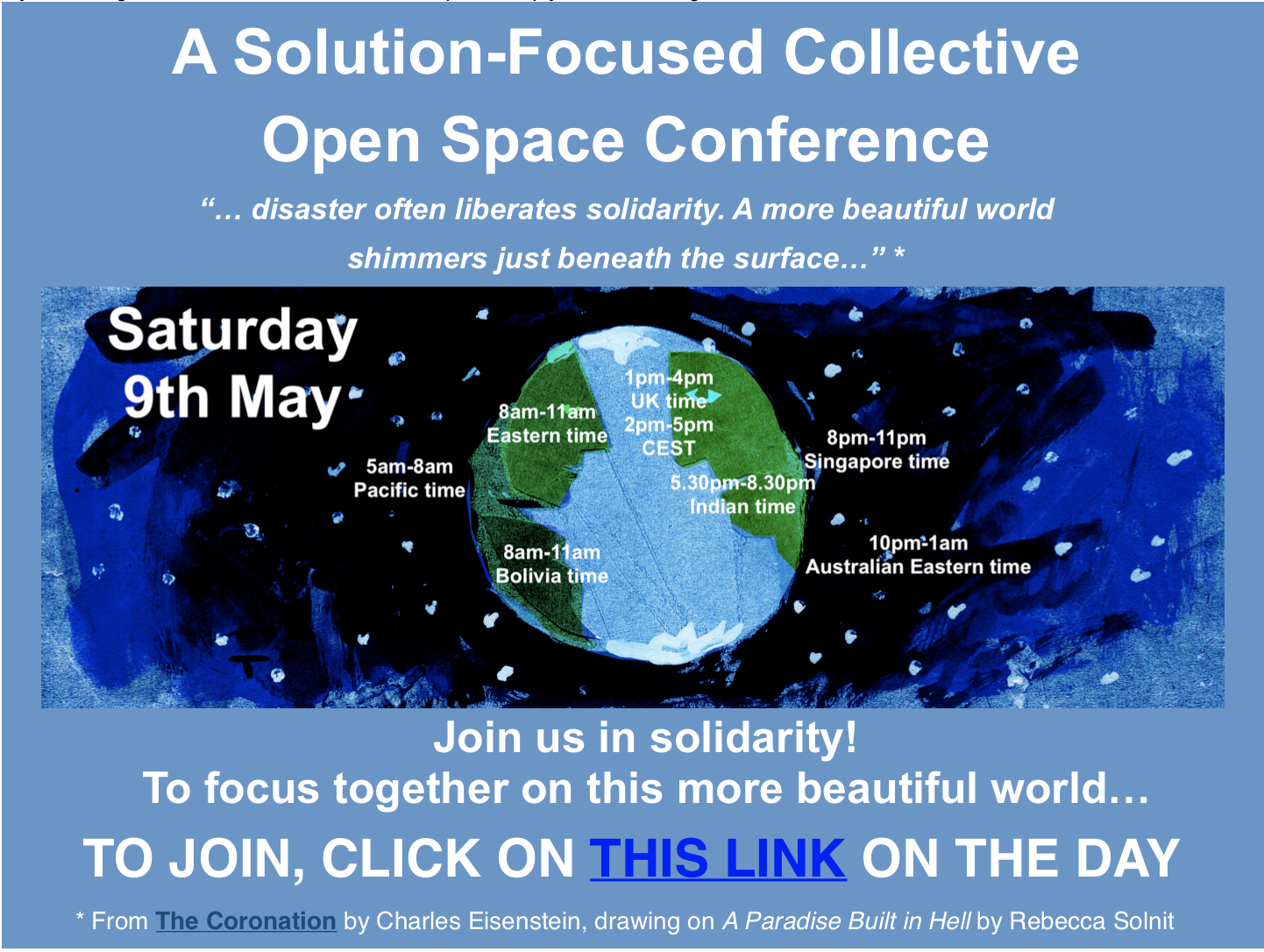 A Solution-Focused Collective Open Space Conference