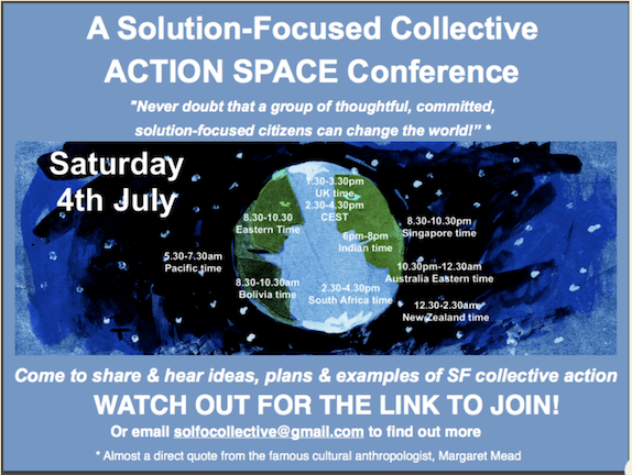 A Solution-Focused Collective Action Space Conference!