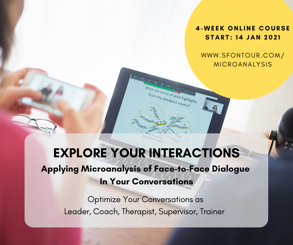 Explore Your Interactions: Applying Microanalysis of Face-to-Face Dialogue in Your Conversations
